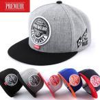 キャップ ローキャップ 帽子 スナップバック キャップ PREMIER Legendary (レジェンダリー) ロゴ レディース キャップ メンズ キャップ