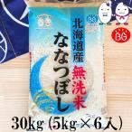お米 BG無洗米 30kg(5kg×6) 北海道産ななつぼし 令和元年産