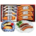 仙台名物牛たんソーセージと京都西京味噌焼魚3種7Pギフト