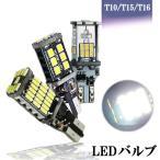 特売セール LEDバックランプ T10 T15 T16 ポジションランプ 爆光 キャンセラー内蔵 DC12V /24V兼用 無極性 Canbus 3タイプ選択可 6000K 2個セット送料無料