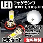 LEDフォグランプ H8/H11/H16 DC12-24V EPISTA製チップ搭載 18W 3000K 光射角度の調整機能あり 90日保障 e-auto fun