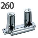 ステンレス製 デッキエンドローラー 260