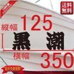 一般系【2文字 】125x350(縦横mm) 左右舷2枚セット