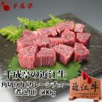 牛肉 肉 和牛 近江牛 角切り肉 カレー・シチュー 煮込用 500g 父の日 2021 プレゼント