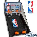 スポルディングNBAデュアル ゲームシステム ドア掛けバスケットボールおもちゃ デジタル表示 SPALDING6091