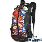 SPALDING ケイジャー マルチボール 40-007 バスケットボール バッグ スポーツ バスケ用バックパック リュック スポルディング CAGER 40-007MLB