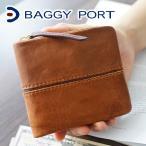 BAGGY PORT バギーポート フルクロームツートン 財布  ラウンドジップ 二つ折り財布 HRD-402 人気