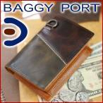 【12 / 4 23:59迄!エントリーで最大P48倍】BAGGY PORT バギーポート メンズ 二つ折り財布KYP601