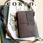 コルボ 財布 メンズ 二つ折り 人気 ブランド 財布  ラウンドジップ 1LE-0306