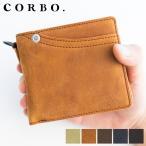 CORBO. コルボ -CLAY Works Horse- クレイワークスホース 小銭入れ付き二つ折り財布(横型) 8JF-9977 人気