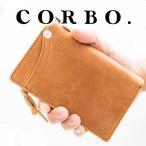 コルボ CORBO. クレイワークスホース 二つ折り財布 メンズ サイフ 8JF-9979