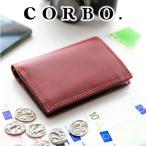 コルボ 財布 メンズ 二つ折り 人気 ブランド 財布 薄型 財布 8LC-0402