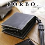 コルボ 財布 CORBO 二つ折り財布 メンズ CORBO. 8LO-9931 人気