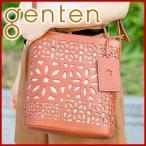 【ポイント10倍】genten ゲンテン multi cut work マルチカットワーク ショルダーバッグ 40501(38702)  人気