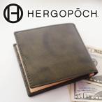 HERGOPOCH エルゴポック 06 Series 06シリーズ ワキシングレザー 二つ折り財布 06W-WTB