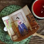 [韓国雑貨]ずーっと飾ってもらえる?SOMSSI韓服女性とそのお部屋ポップアップカード[韓国文房具][可愛い][かわいい][韓国 お土産]TBT868814