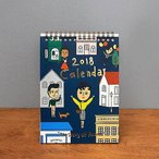 [韓国雑貨]2018 THE STORY OF AURORE CALENDAR 《2018年韓国暦》[カレンダー][ダイアリー]