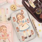 [韓国雑貨]=paper doll mate= Multi Pen Pouch 3[韓国文房具][可愛い][かわいい][韓国 お土産]