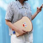Yahoo!韓国音楽専門ソウルライフレコード[韓国雑貨]=Brunch Brother= ブランチブラザー トーストくんのポーチ(BIG / 11インチ)[可愛い][かわいい][韓国 お土産]