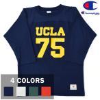 【4 COLORS】CHAMPION(チャンピオン) P12 3/4 SLEEVE PRINT FOOTBALL T-SHIRTS(7分袖プリントフットボールTシャツ)