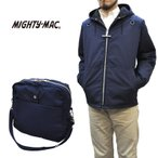 MIGHTY MAC(マイティーマック) SEPTIS別注 ARO DECK PARKA(ボートパーカ) HARRIS TWEED LINING(ハリスツイードライニング) with ARO PAC(バッグ付き) NAVY