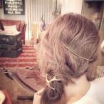 アントラーバレッタ ゴールド 鹿の角 ヘアアクセサリー 髪飾り