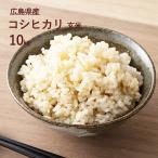 【新米】【広島県産】令和1年産 コシヒカリ 10kg 玄米
