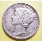 アメリカ、マーキュリー1ダイム銀貨