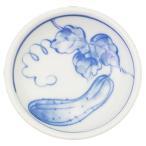 小皿 和食器 / きゅうり 丸小皿 寸法: Φ9 x H2.5cm 80g