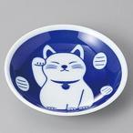 招き猫の皿