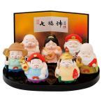 ミニ七福神(大) 【 置物 】   置物 縁起物 お祝い 贈り物 七福神 日本土産