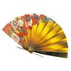 祝い扇子 (50ケ入) 赤友禅 [ 約10 x 5.5cm ] 【 演出小物 】 | 正月 元旦 お節 お祝い 業務用 自宅用