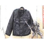 R BASQUIT(バスキア) スーツ地 M-65JK 5号ピスロンZip