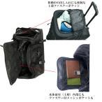 ボストンキャリーバッグ 大容量 おしゃれ ボストンバック メンズ 100L アウトドア 旅行バッグ CWH180510B ブラック F