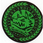 MAN WITH A MISSION/5 Years 5 Wolves 5 Souls非売品ステッカー 緑