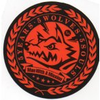 MAN WITH A MISSION/5 Years 5 Wolves 5 Souls非売品ステッカー 赤