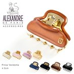 Alexandredeparis アレクサンドルドゥパリ ヘアークリップ ヘアアクセサリー Pince Vendome ICC45-14339-02 4.5cm