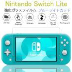 ニンテンドー スイッチライト ガラスフィルム 任天堂 Nintendo Switch 保護フィルム  強化保護ガラス 9H ガラス飛散防止 指紋防止 気泡ゼロ ブルーライトカット
