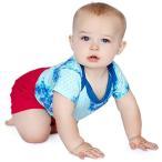 Finn+Emma ショートパンツ オーガニックコットン100% 12-18ヶ月[B02-0302f](ハイリスクレッド, 80cm-90cm)