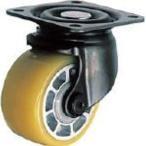 ハンマー 低床式 重荷重用 自在 ウレタン車B入り75mm[540SBAU75BAR01](車輪径D:75mm)の画像