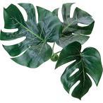 造花の観葉植物 モンステラマグプランツホーム[GLA-1255](グリーン)