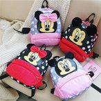 ディズニー Disney ミッキーマウス/ミニーマウス子供用リュックサック 乳幼児向き(1-3歳位) 幼児向き(2-5歳位)キッズリュック軽量仕上げ