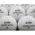 ロストボール ゼクシオ XXIO エアロスピン AEROSPIN 1ダース 12球セット 当店Aランク 中古 ゴルフボール