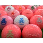 ロストボール ウィルソン ベア クレア CLEA 30球セット 当店Aランク 中古 ゴルフボール WILSON