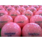 ショッピングツアーステージ ロストボール 美品 ツアーステージ V10 シリーズ ピンクカラー 1ダース 12球セット 中古 ゴルフボール