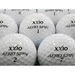 ロストボール 美品 ゼクシオ XXIO エアロスピン AEROSPIN 1個 中古 ゴルフボール