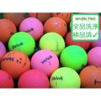 ロストボール ボルビック ビビッド VOLVIK VIVID マットカラー 1個 当店Dランク 練習用 中古 ゴルフボール