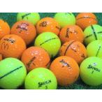 訳あり 落書き SRIXON スリクソン AD333 イエロー オレンジ 1個 中古 ロストボール ゴルフボール