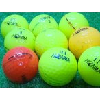 訳あり 落書き ホンマ カラー ボール 1個 中古 ゴルフボール ロストボール