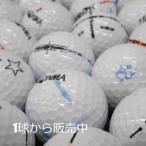 訳あり 落書き ホンマ ホワイト カラー 1個 中古 ゴルフボール ロストボール